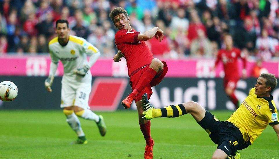 بايرن ميونخ في آخر مواجهة مع بروسيا دورتموند