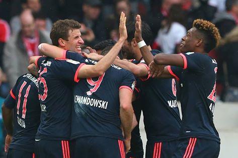 انتصار بايرن ميونيخ على شتوتغارت 3-1