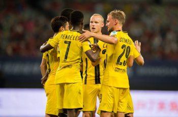 بوروسيا دورتموند يغتصب مانشستر يونايتد في الكأس الدولية للأبطال