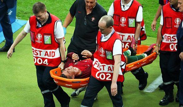 كريستيانو رونالدو يتعرض لقطع في الرباط الصليبي