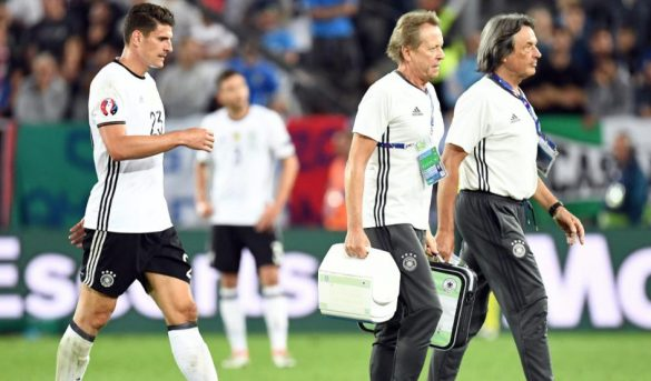 نهاية مسيرة ماريو غوميز في يورو 2016