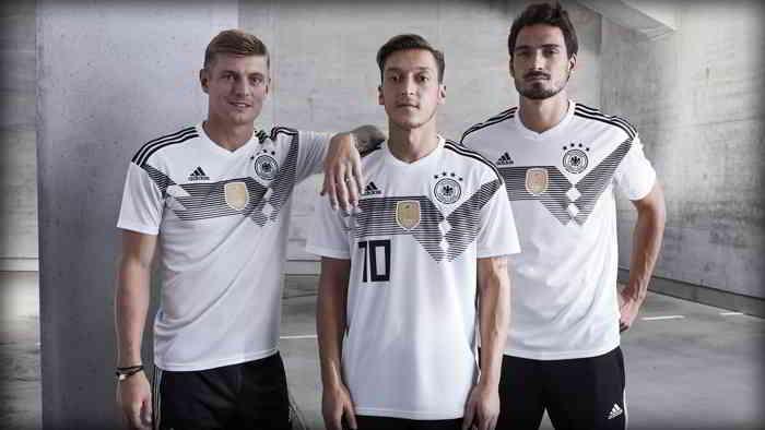 زي المانيا في كأس العالم 2018