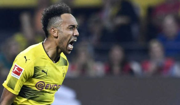أوباميانغ أفضل هداف إفريقي في الدوري الألماني