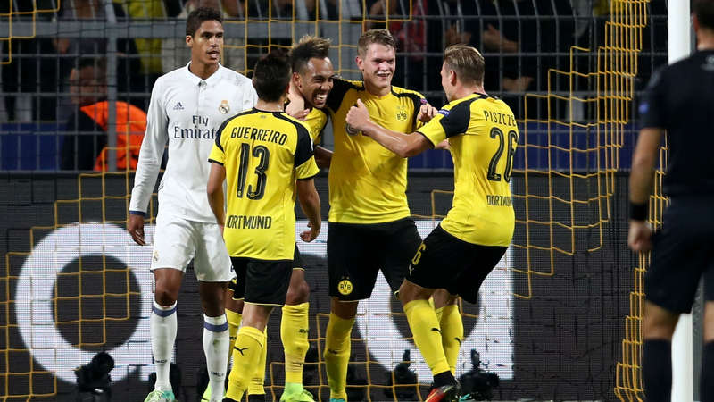 بوروسيا دورتموند في مواجهة ريال مدريد