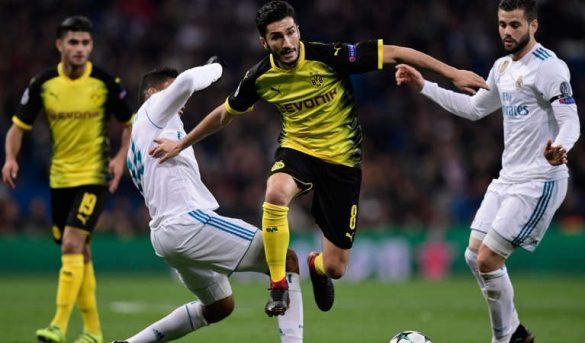 بوروسيا دورتموند يخسر من ريال مدريد مرة أخرى