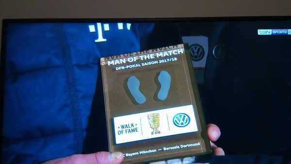 جائزة رجل المباراة في كأس المانيا