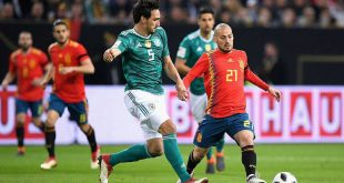 المانيا تتعادل مع إسبانيا