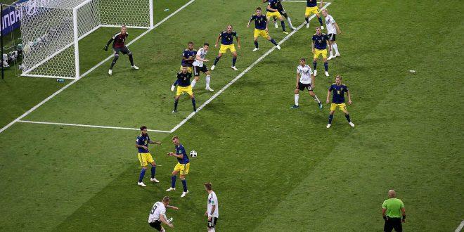 المانيا تهزم السويد في آخر ثواني