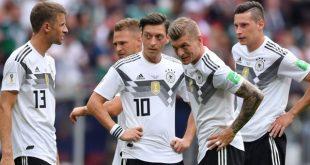 المانيا والهزيمة أمام المكسيك