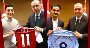 أوزيل وأردوغان وغوندوغان