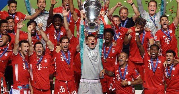 بايرن ميونخ بطل دوري أبطال أوروبا 2020 في مواجهة إشبيلية بالسوبر الأوروبي