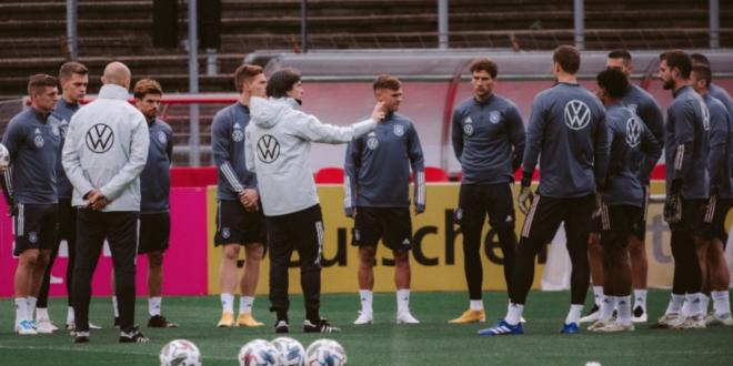 المنتخب الألماني قبل مواجهة أوكرانيا في دوري الأمم الأوروبية