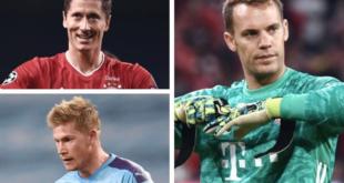 أفضل لاعب في أوروبا 2020