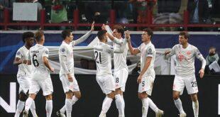 بايرن ميونخ يواصل تحطيم رقم الانتصارات القياسي في دوري الأبطال