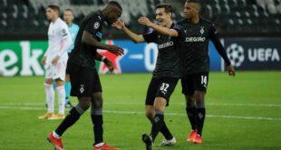بوروسيا مونشنغلادباخ وريال مدريد في دوري أبطال أوروبا