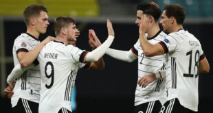المنتخب الألماني يهزم أوكرانيا ويرتقي للصدارة