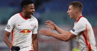 لايبزيغ يثأر من باريس سان جيرمان في دوري أبطال أوروبا