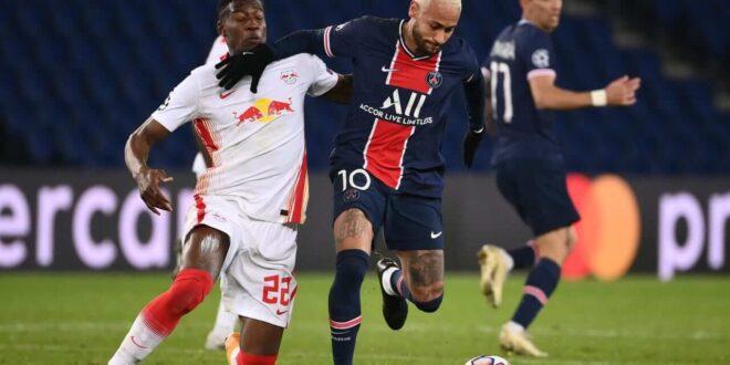 لايبزيغ يخسر أمام باريس رغم أفضلية طوال المباراة