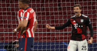 بايرن ميونخ لا يُهزم رغم توقف سلسلة انتصاراته المتتالية في دوري أبطال أوروبا