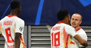 لايبزيغ يهزم مانشستر يونايتد ويتأهل لثمن نهائي دوري أبطال أوروبا