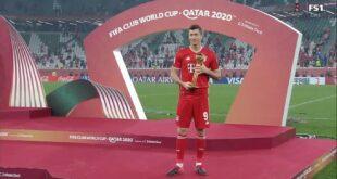 ليفاندوفسكي أفضل لاعب في كأس العالم للأندية